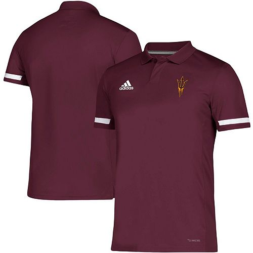 Arizona State Sun Devils adidas Team climacool Polo - Maroon