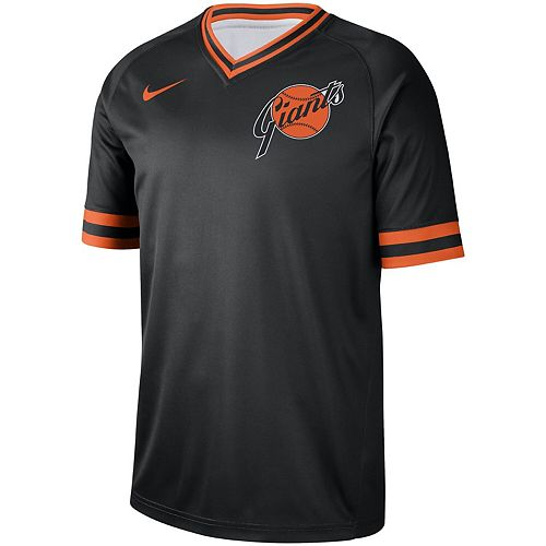 Men's Nike Black San Francisco Giants Cooperstown Collection Legend V-Neck Jersey