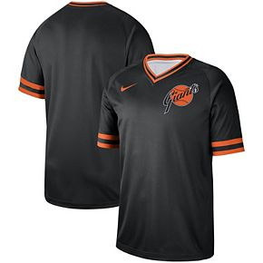 Men's Nike Black San Francisco Giants Cooperstown Collection Legend V-Neck Jersey