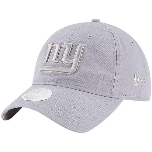 Women's New Era Gray New York Giants Tonal Core Classic 9TWENTY Adjustable Hat
