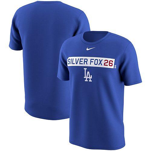 Men's Nike Chase Utley Royal Los Angeles Dodgers Legend Player Nickname Name & Number Performance Tri-Blend T-Shirt