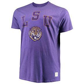 Men's Original Retro Brand Purple LSU Tigers Big & Tall Mock Twist T-Shirt