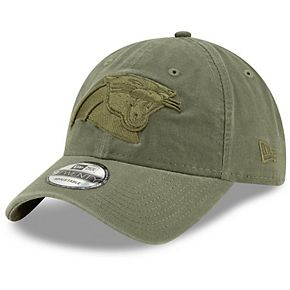 Men's New Era Olive Carolina Panthers Core Classic Tonal 9TWENTY Adjustable Hat