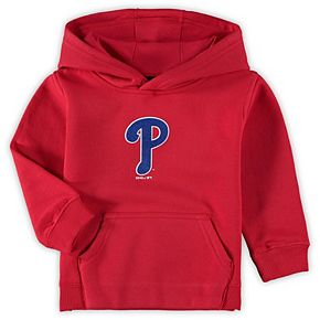 Toddler Red Philadelphia Phillies Primary Logo Fleece Pullover Hoodie