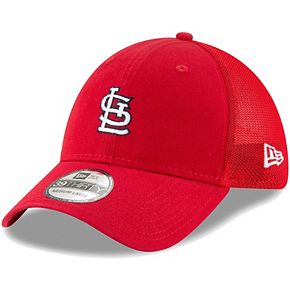 Men's New Era Red St. Louis Cardinals Team Precision 39THIRTY Flex Hat