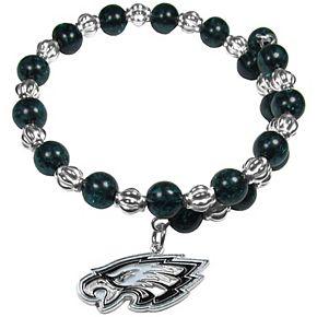 Women's Philadelphia Eagles 400 Degrees Beaded Bracelet