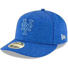 Men's New Era Royal New York Mets 2018 Clubhouse Collection Low Profile 59FIFTY Fitted Hat