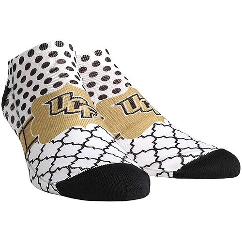 Women's UCF Knights Quatrefoil Dots Ankle Socks