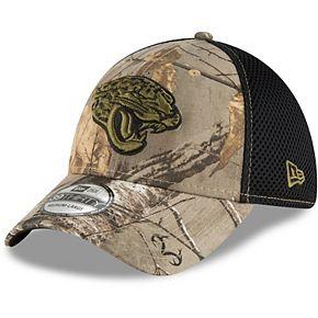 Men's New Era Realtree Camo/Black Jacksonville Jaguars Neo 39THIRTY Flex Hat