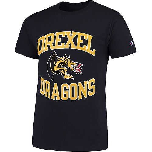 Men's Champion Navy Drexel Dragons Tradition T-Shirt
