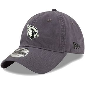 Men's New Era Charcoal Arizona Cardinals Paramount 9TWENTY Adjustable Hat