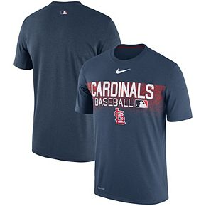 Men's Nike Navy St. Louis Cardinals Authentic Collection Legend Team Issued Performance T-Shirt