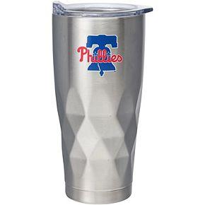 Philadelphia Phillies 22oz. Diamond Bottom Stainless Steel Tumbler