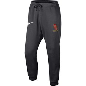 Men's Nike Anthracite USC Trojans Club Fleece Joggers