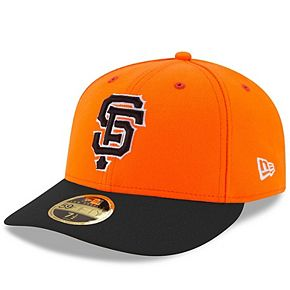 Men's New Era Orange San Francisco Giants 2017 Players Weekend Low Profile 59FIFTY Fitted Hat
