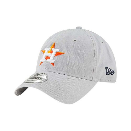 Men's New Era Gray Houston Astros Core Classic Twill 9TWENTY Adjustable Hat