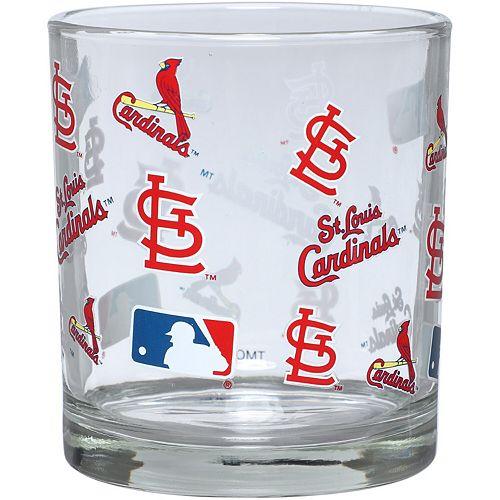 St. Louis Cardinals Full Wrap Rocks Glass