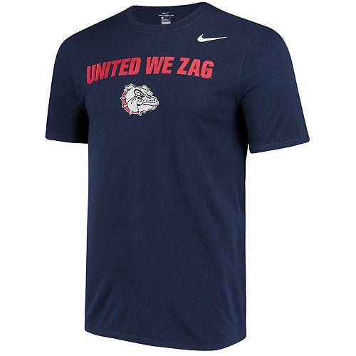 Men's Nike Navy Gonzaga Bulldogs Local Phrase Performance T-Shirt