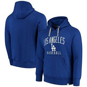 Men's Fanatics Branded Royal Los Angeles Dodgers Indestructible Pullover Hoodie
