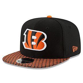 Cincinnati Bengals New Era Youth 2017 Sideline Official 9FIFTY Snapback Hat - Black