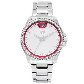 Women's  San Francisco 49ers Legacy Crystal 3-Hand Watch