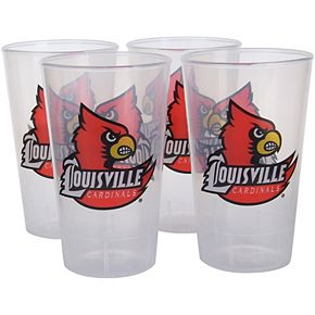 Louisville Cardinals 16oz. Acrylic Tumblers 4-Pack Set