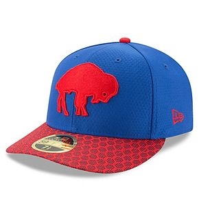 Men's New Era Royal Buffalo Bills 2017 Sideline Historic Low Profile 59FIFTY Fitted Hat
