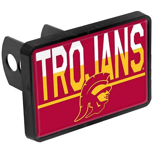 USC Trojans Duo-Tone Rectangular Plastic Hitch Cover