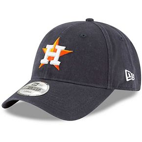 Men's New Era Navy Houston Astros Core Fit Replica 49FORTY Fitted Hat