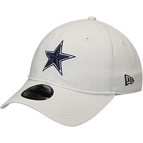 Men's New Era Tan Dallas Cowboys Team Logo Core Classic Twill 9TWENTY Adjustable Hat