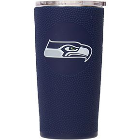 Seattle Seahawks 20oz. Stainless Steel with 3D Silicone Tumbler