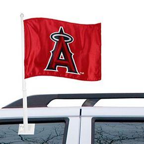 "Los Angeles Angels 11"" x 15"" Red Car Flag"