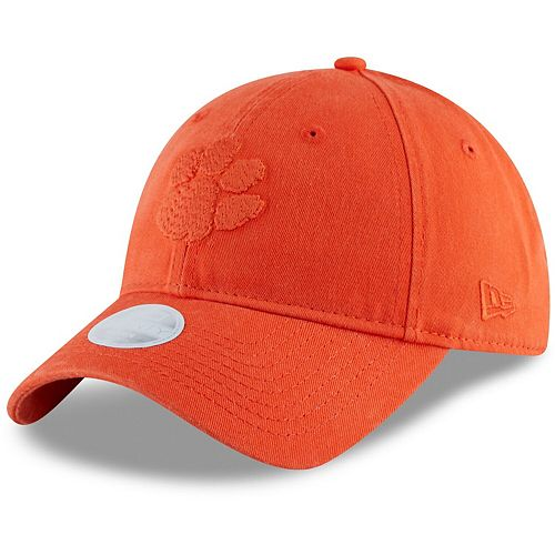 Women's New Era Orange Clemson Tigers Core Classic Tonal 9TWENTY Adjustable Hat