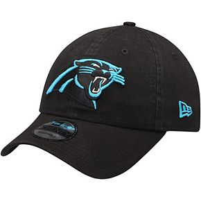 Men's New Era Black Carolina Panthers Core Classic 9TWENTY Adjustable Hat