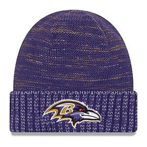 Men's New Era Purple Baltimore Ravens 2017 Color Rush Knit Hat