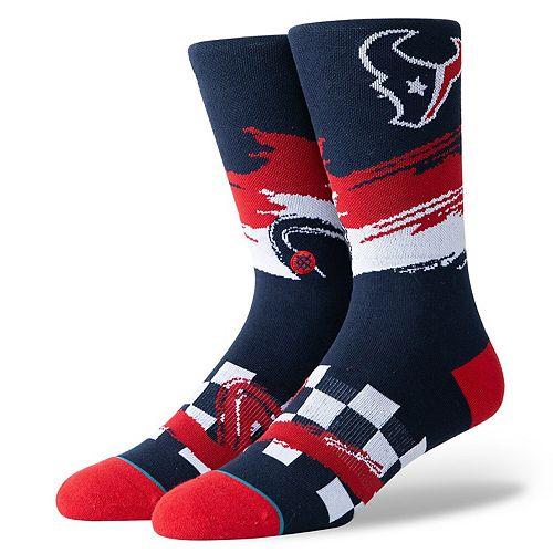 Men's Stance Houston Texans Racer Crew Socks