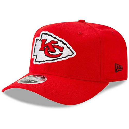 Men's New Era Red Kansas City Chiefs Team 9FIFTY Adjustable Snapback Hat