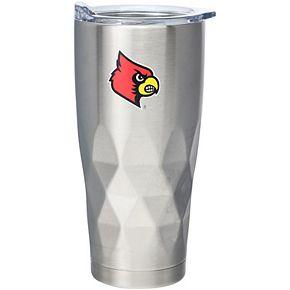 Louisville Cardinals 22oz. Diamond Bottom Stainless Steel Tumbler