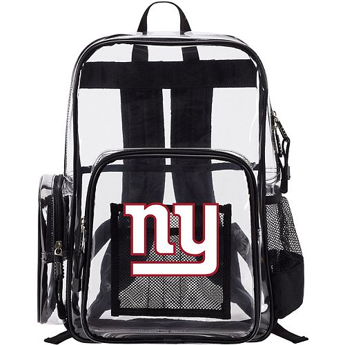 The Northwest Company New York Giants Dimension Clear Backpack