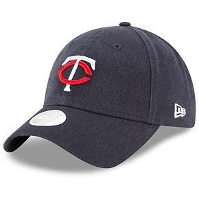 Women's New Era Navy Minnesota Twins Core Classic Twill Team Color 9TWENTY Adjustable Hat