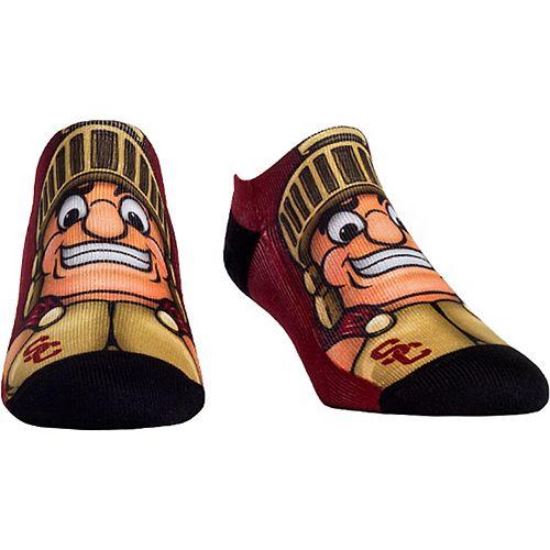 Women's USC Trojans Mascot Low Ankle-Length Socks