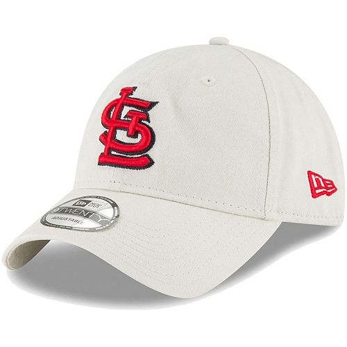Men's New Era Tan St. Louis Cardinals Core Classic Twill 9TWENTY Adjustable Hat
