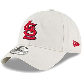 Men's New Era Tan St. Louis Cardinals Core Classic Twill 9TWENTY Adjustable Hat