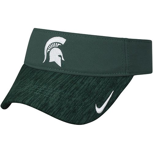 Men's Nike Green Michigan State Spartans 2018 Sideline AeroBill Performance Visor