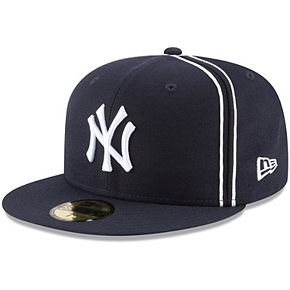 Men's New Era Navy New York Yankees Y2K Soutache 59FIFTY Fitted Hat
