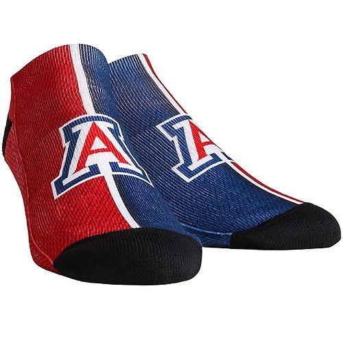 Men's Arizona Wildcats Campus Stripe Ankle Socks