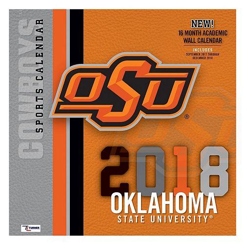 "Oklahoma State Cowboys 2018 12"" x 12"" Team Wall Calendar"