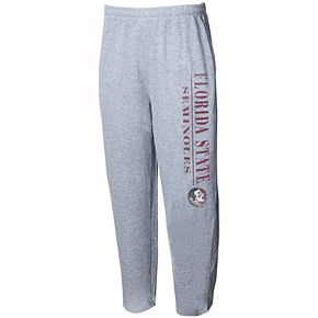 Men's Concepts Sport Gray Florida State Seminoles Tri-Blend Mainstream Terry Pants