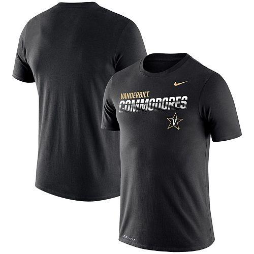 Men's Nike Black Vanderbilt Commodores Sideline Legend Performance T-Shirt