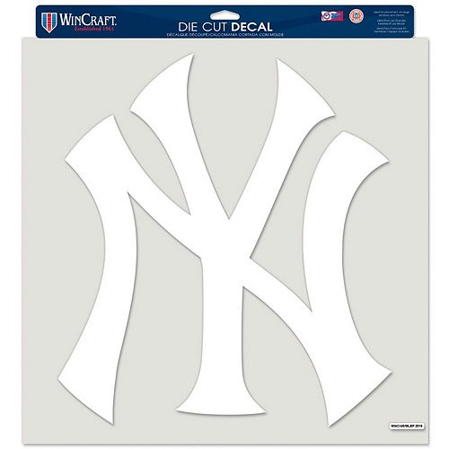 """WinCraft New York Yankees 17"""" x 17"""" Perfect Cut Decal"""